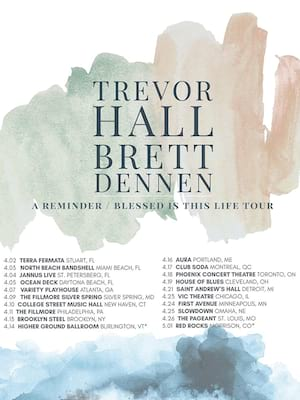 Trevor Hall at College Street Music Hall