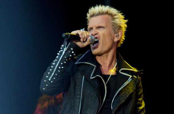 Billy Idol, Pearl Concert Theater, Las Vegas