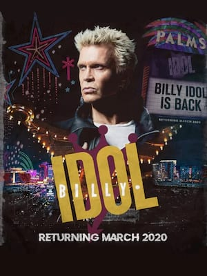 Billy Idol at Pearl Concert Theater
