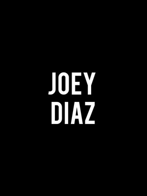 Joey Diaz at Tabernacle
