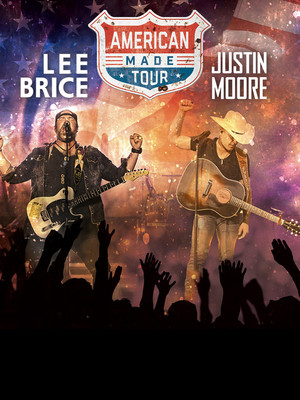 Lee Brice and Justin Moore Poster