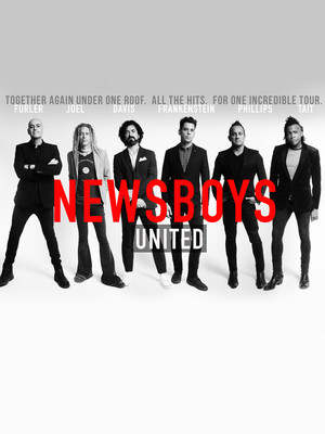 Newsboys, Mary W Sommervold Hall at Washington Pavilion, Sioux Falls