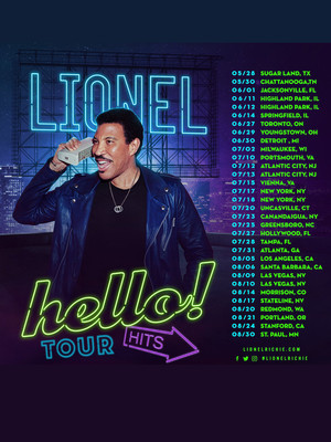 Lionel Richie, Greensboro Coliseum, Greensboro