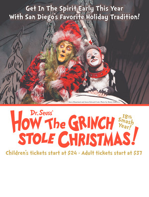 How the Grinch Stole Christmas, Old Globe Theater, San Diego