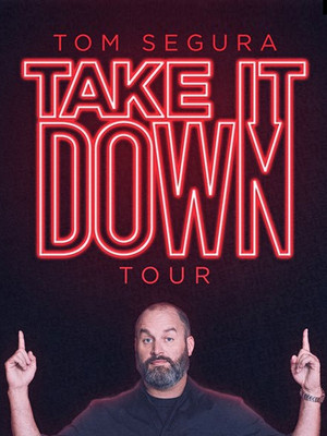 Tom Segura at Gaillard Center
