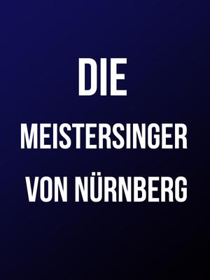 Die Meistersinger von Nurnberg Poster