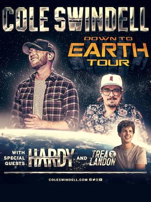 Cole Swindell at Peoria Civic Center Theatre