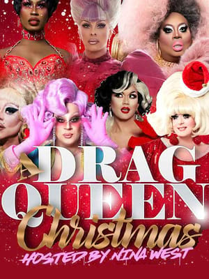 A Drag Queen Christmas Poster