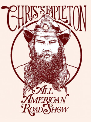Chris Stapleton, Cynthia Woods Mitchell Pavilion, Houston