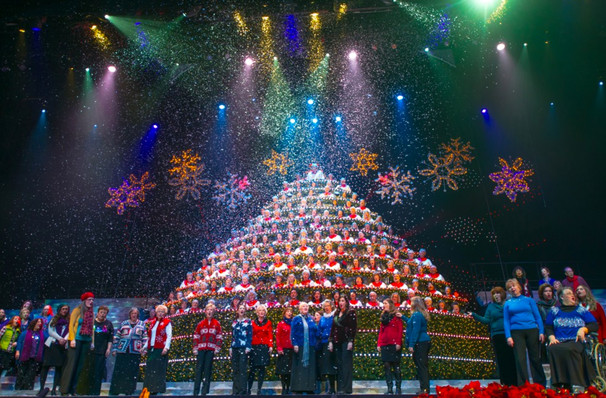 Singing Christmas Tree, Keller Auditorium, Portland