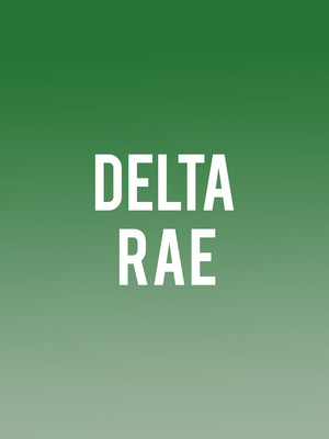 Delta Rae, Park West, Chicago