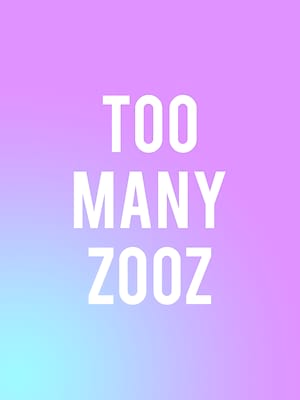 Too Many Zooz at The Blind Tiger