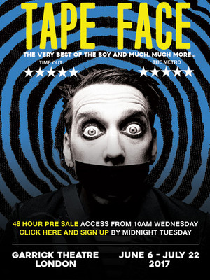 Tape Face at Garrick Theatre