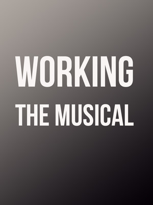 Working: A Musical Poster