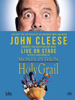 John Cleese and The Holy Grail Poster