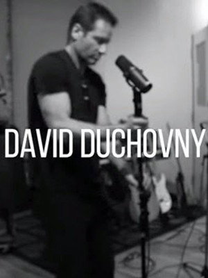 David Duchovny at Wilbur Theater