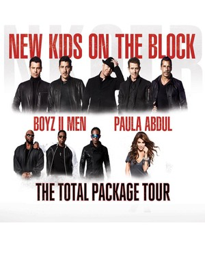 New Kids on the Block with Paula Abdul and Boyz II Men Poster