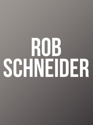 Rob Schneider at Borgata Music Box