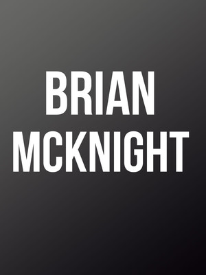 Brian McKnight at Motorcity Casino Hotel