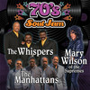 70s Soul Jam feat The Whispers The Manhattans and Mary Wilson, Verizon Theatre, Dallas