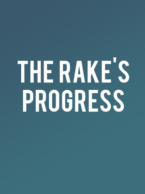 The Rake's Progress Poster