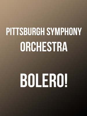 Pittsburgh Symphony Orchestra Bolero, Heinz Hall, Pittsburgh