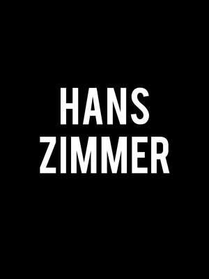 Hans Zimmer at Centre Bell