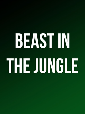 Beast in the Jungle Poster