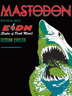 Mastodon with Eagles of Death Metal, Comerica Theatre, Phoenix