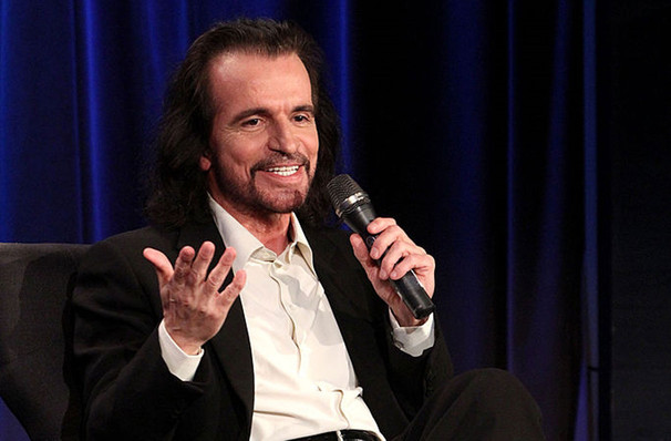 A Conversation With Yanni, Granada Theatre, Santa Barbara