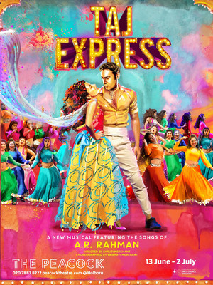 Taj Express: The Bollywood Musical Revue Poster