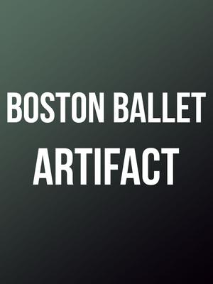 Boston Ballet Artifact, Boston Opera House, Boston