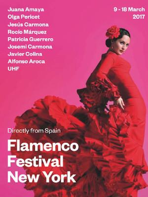 The 2017 New York Flamenco Festival Poster