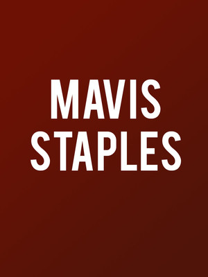 Mavis Staples at Koerner Hall