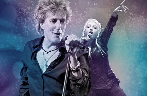 Rod Stewart and Cyndi Lauper, Sprint Center, Kansas City