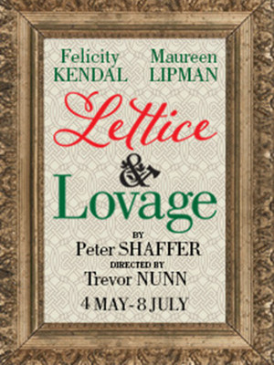 Lettice and Lovage Poster