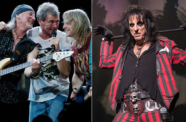 Deep Purple and Alice Cooper, DTE Energy Music Center, Detroit