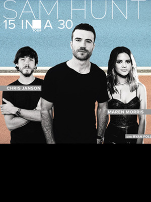 Sam Hunt With Maren Morris at Shoreline Amphitheatre