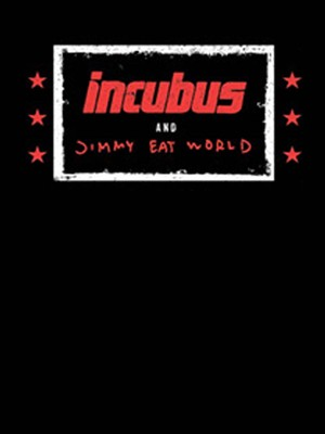 Incubus with Jimmy Eat World Poster
