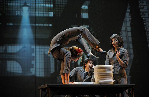 Cirque Eloize Cirkopolis, Bluma Appel Theatre, Toronto