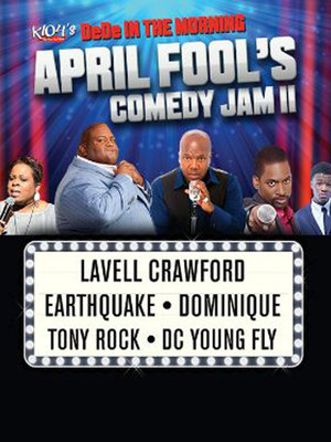 April Fools Comedy Jam feat. Lavell Crawford Poster