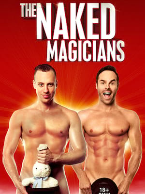 Naked Magicians at Temple Theater