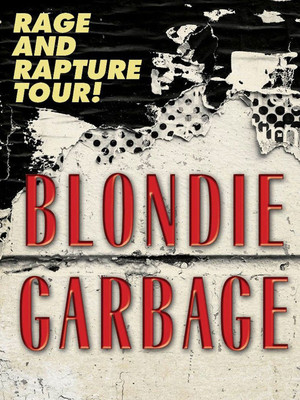 Blondie and Garbage Poster