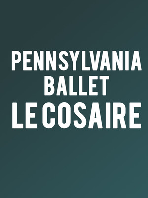 Pennsylvania Ballet - Le Corsaire at Academy of Music