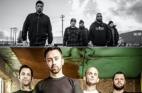 Deftones with Rise Against, Usana Amphitheatre, Salt Lake City