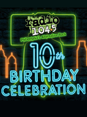 104.5 Radio Birthday Show - Kings of Leon, Bastille, and Empire of the Sun Poster