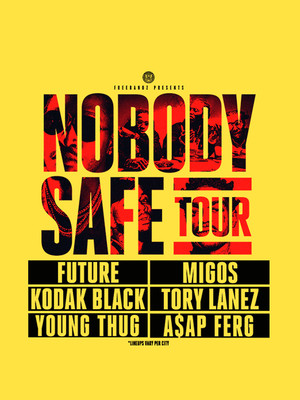 Future with Migos Tory Lanez and Kodak Black, T Mobile Arena, Las Vegas