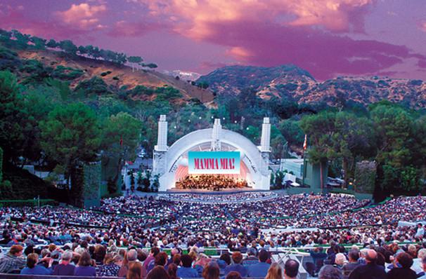 Mamma Mia At The Hollywood Bowl Hollywood Bowl Los
