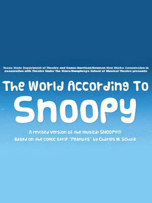 The World According to Snoopy Poster
