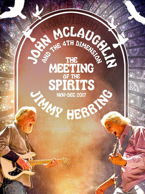 John McLaughlin with Jimmy Herring Poster